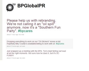 BP Global PR on Twitter